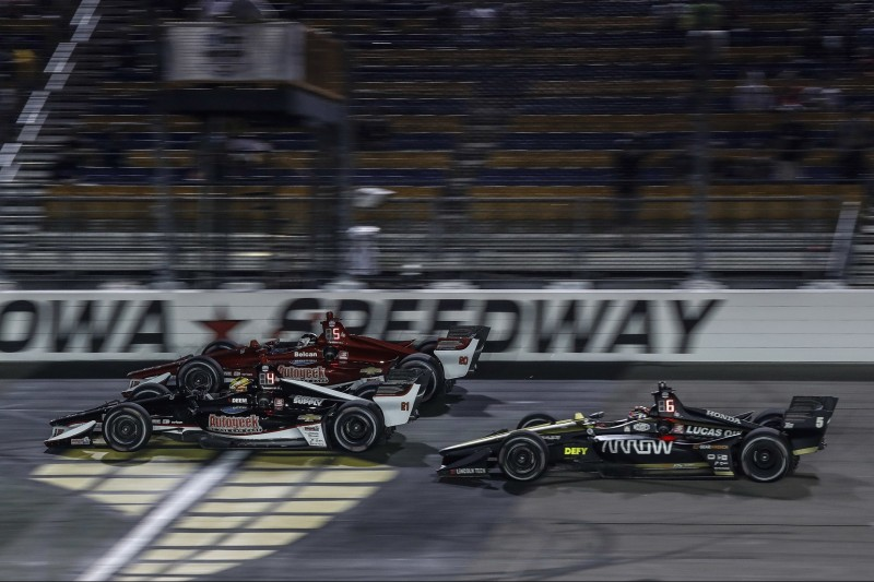 Spencer Pigot, Ed Carpenter, James Hinchcliffe