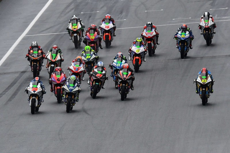 MotoE Start in Spielberg