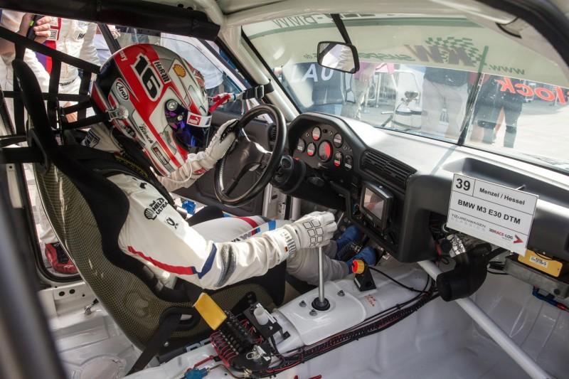 Timo Glock, Tourenwagen-Classics, BMW M3 E30
