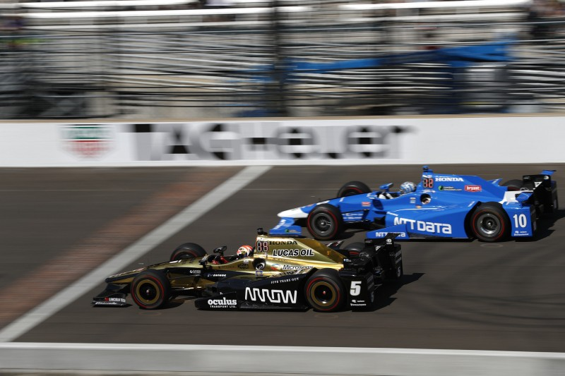 James Hinchcliffe, Tony Kanaan, Chip Ganassi