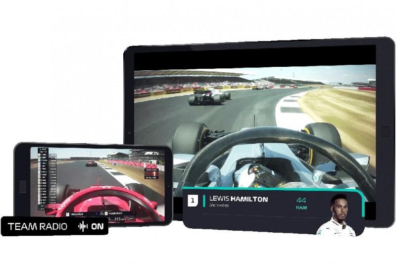 F1 TV Pro: Erhalten Sie einen direkten Audiofeed über das Geschehen auf der Strecke und in der Boxengasse