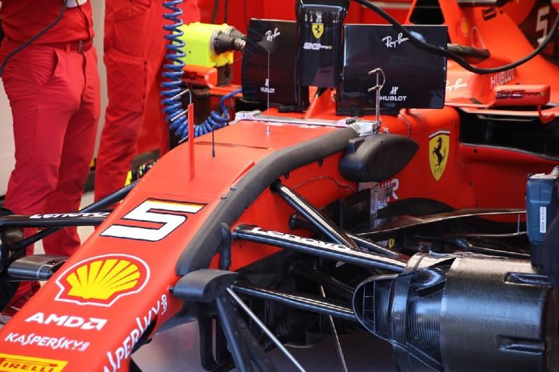 Ferrari, Messgeräte