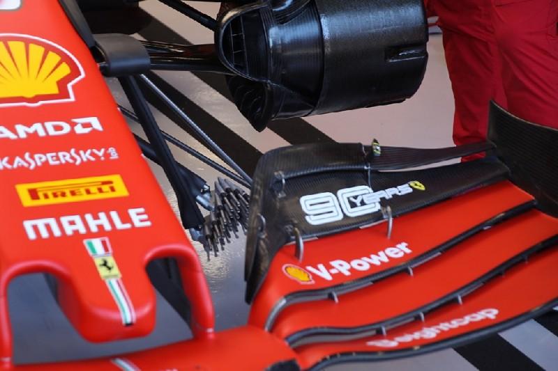 Ferrari, Frontflügel, Sonde
