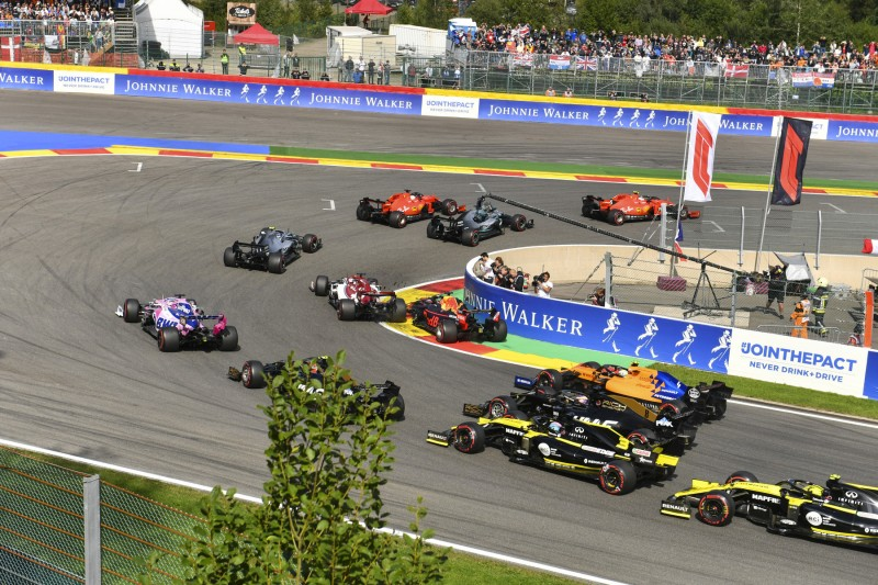Start zum GP Belgien 2019 in Spa