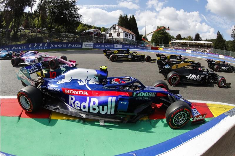 Daniel Ricciardo, Romain Grosjean, Nico Hülkenberg, Pierre Gasly, Lance Stroll