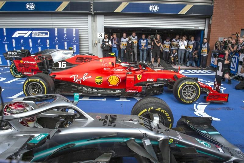 Charles Leclerc, Lewis Hamilton