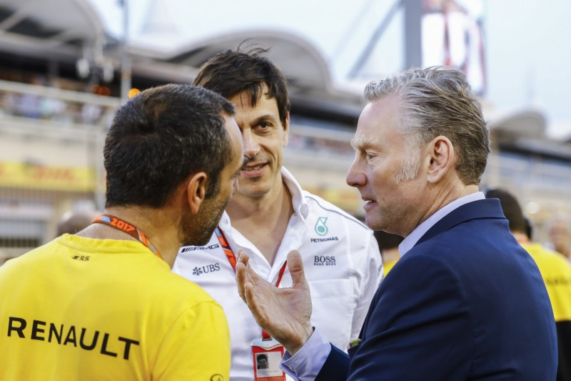Cyril Abiteboul, Toto Wolff und Sean Bratches