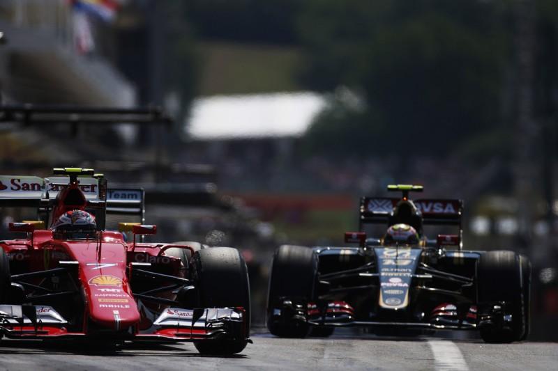 Kimi Räikkönen, Pastor Maldonado