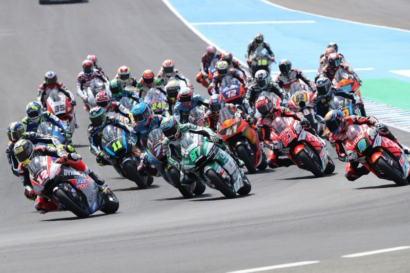 Moto2 Start in Jerez
