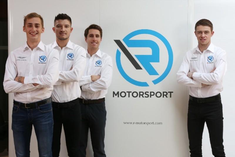 Ferdinand Habsburg, Jake Dennis, Daniel Juncadella, Paul di Resta, R-Motorsport