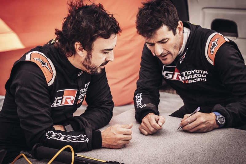Fernando Alonso, Marc Coma