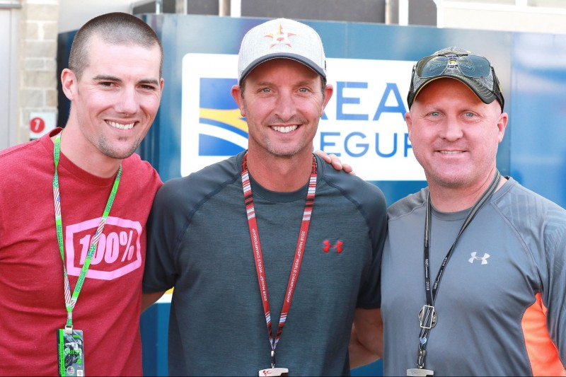 Ben Spies, Colin Edwards, Kenny Roberts
