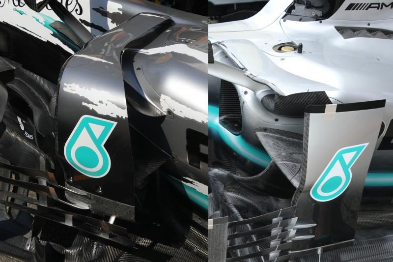 Mercedes Bargeboards