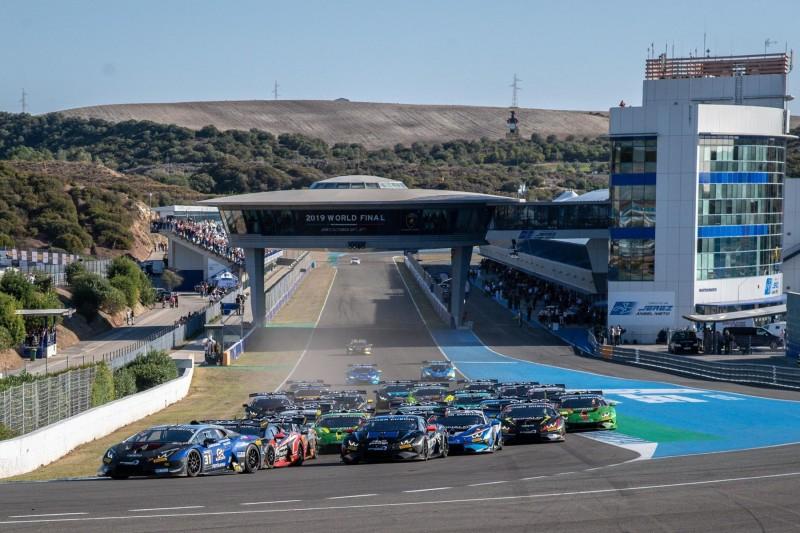 Start zum Lamborghini-Weltfinale 2019 in Jerez