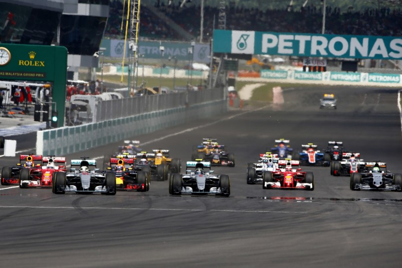 Lewis Hamilton, Nico Rosberg, Sebastian Vettel, Daniel Ricciardo, Max Verstappen
