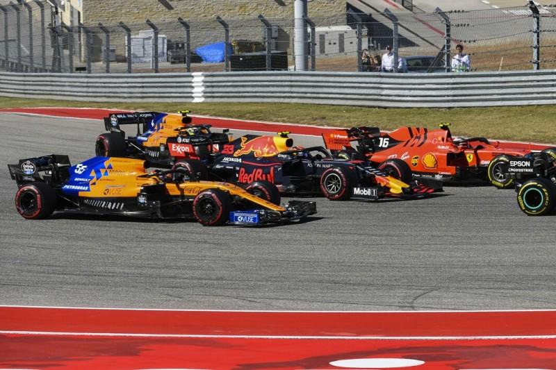 Sebastian Vettel, Lewis Hamilton, Charles Leclerc, Alexander Albon, Carlos Sainz, Lando Norris