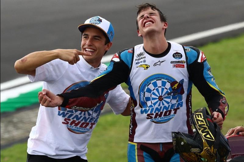 Alex Marquez, Marc Marquez