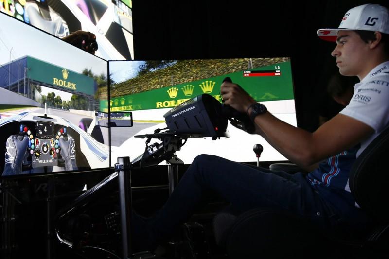SimRacing: Lance Stroll im Simulator