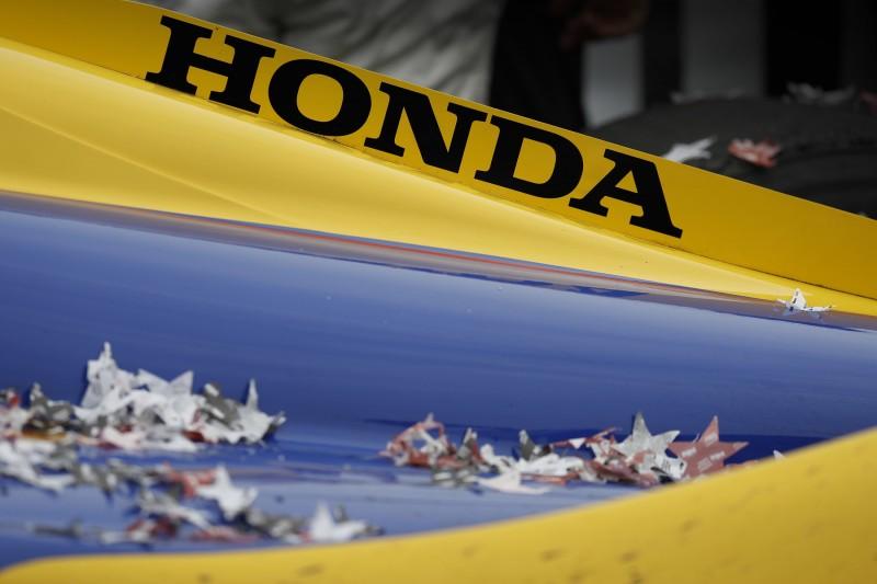 Schriftzug: Honda