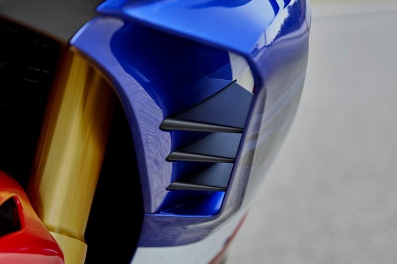 Winglets an der Honda Fireblade