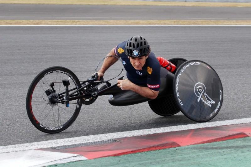 Alex Zanardi, Handbike, Paracycling