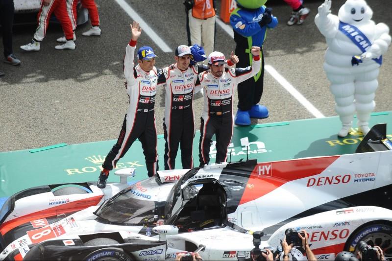 Kazuki Nakajima, Sebastien Buemi, Fernando Alonso
