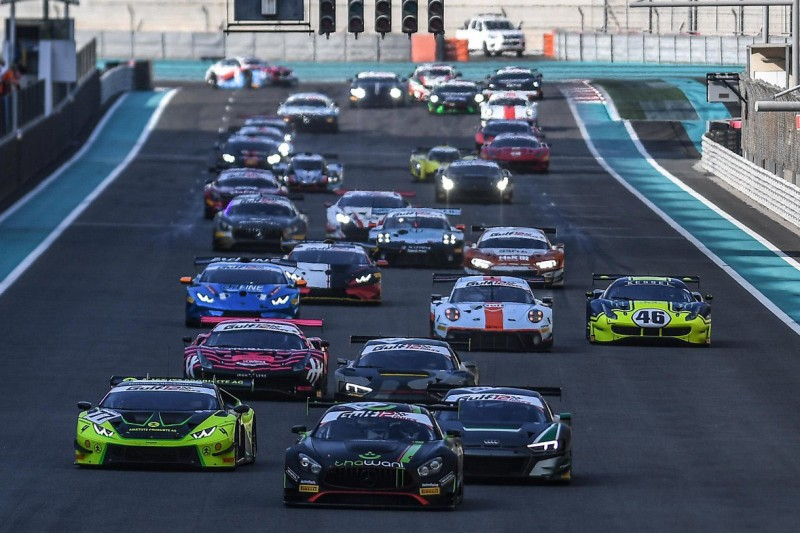 Start der 12h Abu Dhabi 2019