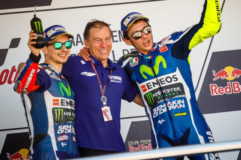 Valentino Rossi, Jorge Lorenzo, Lin Jarvis