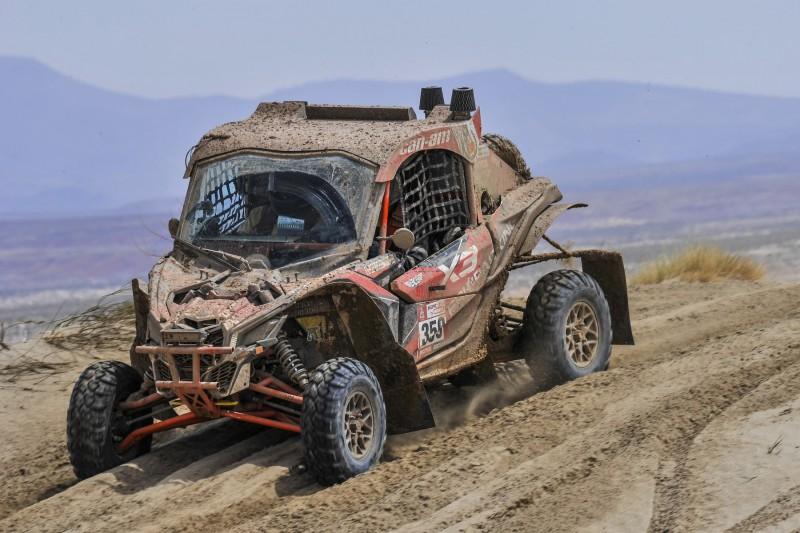SxS-Kategorie bei der Rallye Dakar