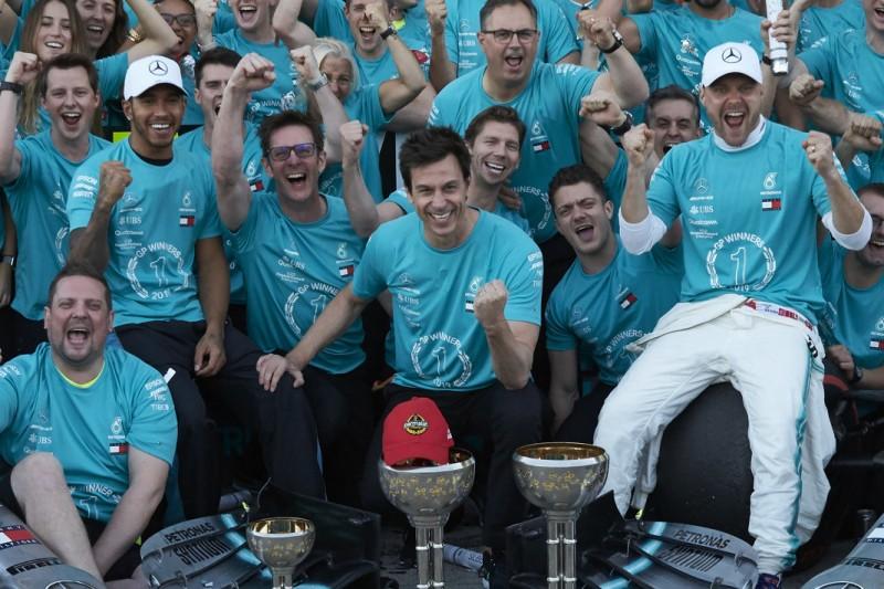 Valtteri Bottas, Lewis Hamilton, Toto Wolff