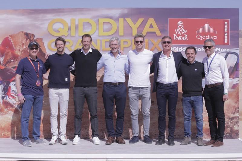 Alexander Wurz, Nico Hülkenberg, Damon Hill, David Coulthard, Loris Capirossi, Romain Grosjean