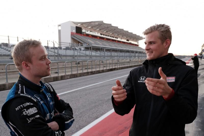 Felix Rosenqvist, Marcus Ericsson