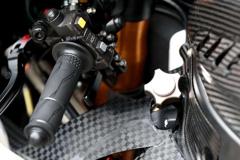 Yamaha M1: Holeshot-Device