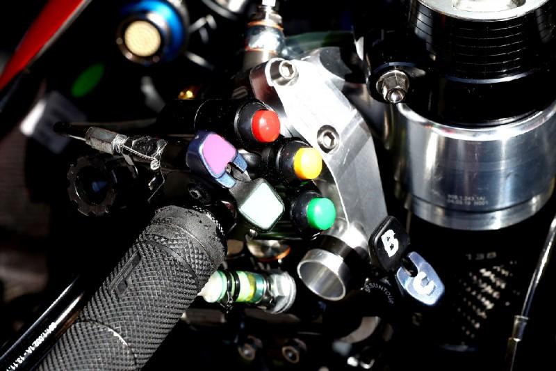 Ducati Desmosedici GP20: Ride Height Adjuster
