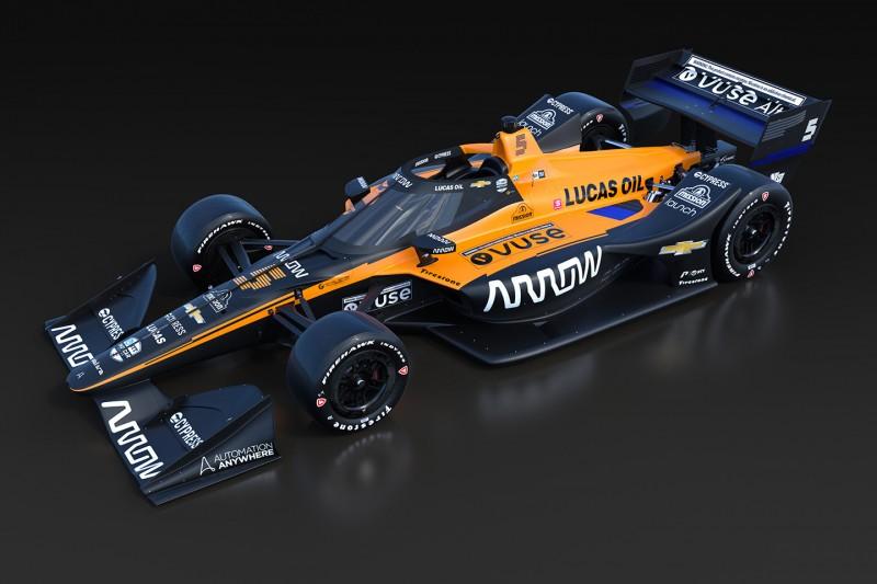 Dallara-Chevrolet von McLaren SP für die IndyCar-Saison 2020