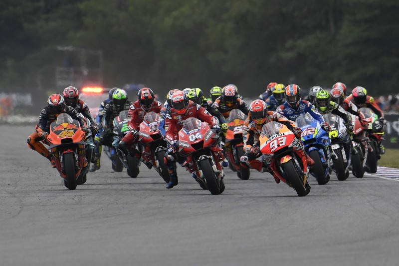 MotoGP Start in Brünn