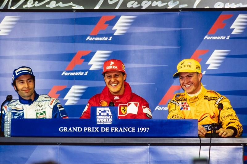 Heinz-Harald Frentzen, Michael Schumacher, Ralf Schumacher