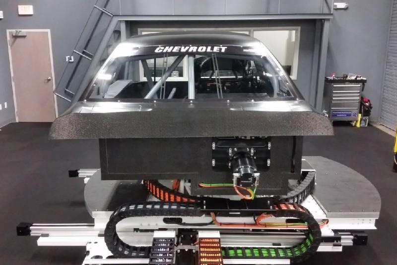 NASCAR-Simulator von Chevrolet