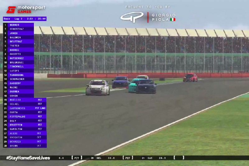 E-Sport: Veloce-Pro-Series in Silverstone