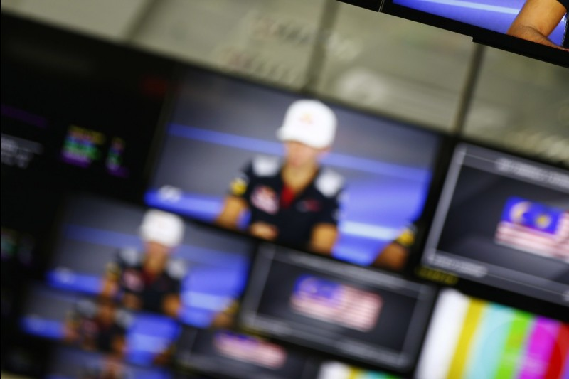 Pierre Gasly, Monitore, Medienzentrum