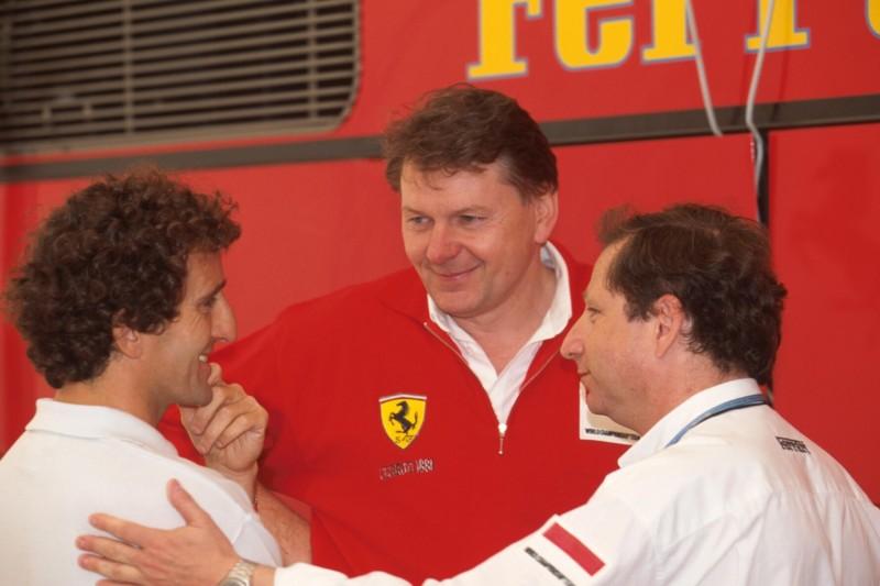 Alain Prost, John Barnard, Jean Todt