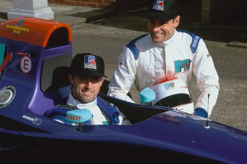 Roland Ratzenberger, David Brabham