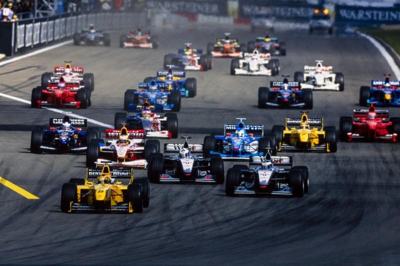 Heinz-Harald Frentzen, David Coulthard, Ralf Schumacher, Giancarlo Fisichella