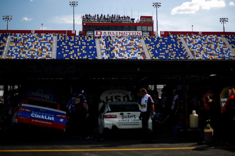 NASCAR-Garage am Darlington Raceway