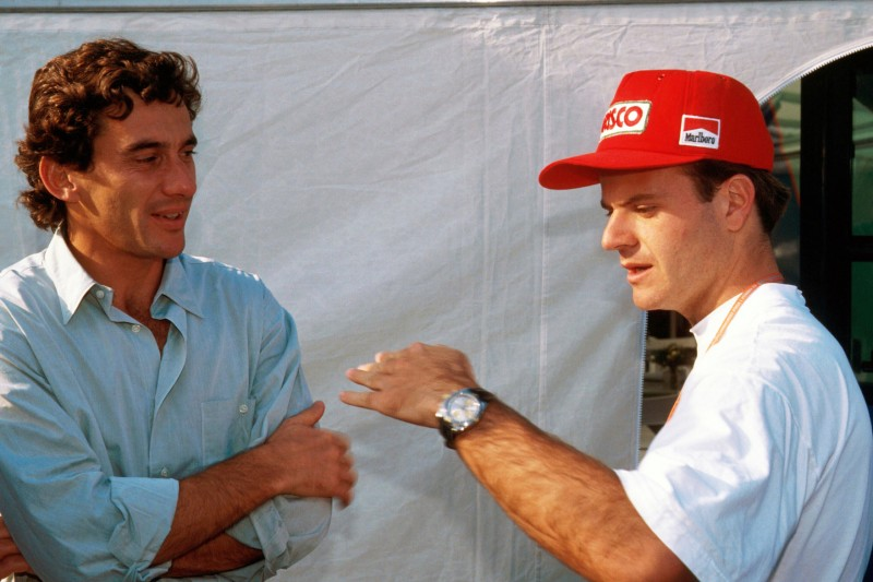 Ayrton Senna, Rubens Barrichello