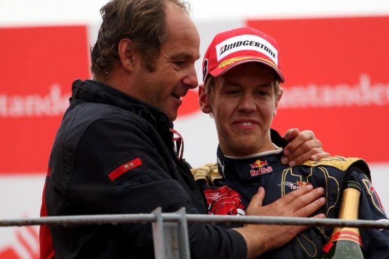 Sebastian Vettel, Gerhard Berger