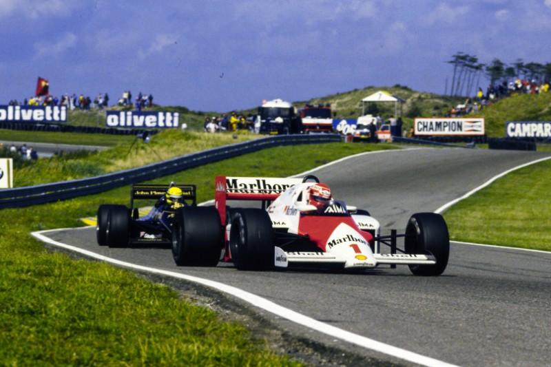 Niki Lauda, Ayrton Senna