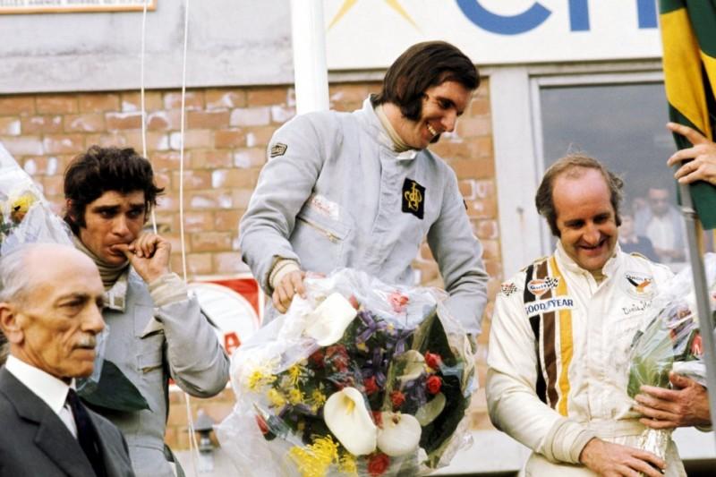 Francois Cevert, Emerson Fittipaldi, Denny Hulme