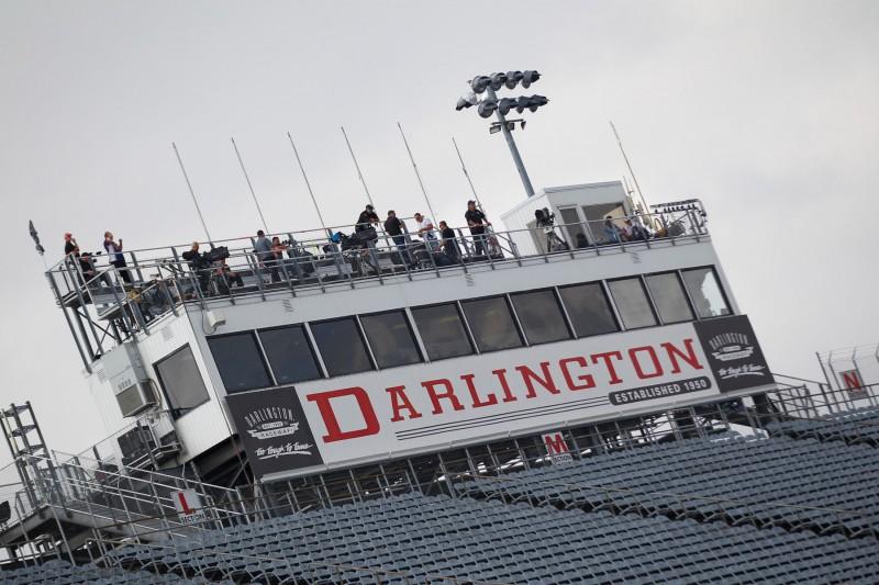 NASCAR-Spotter am Darlington Raceway