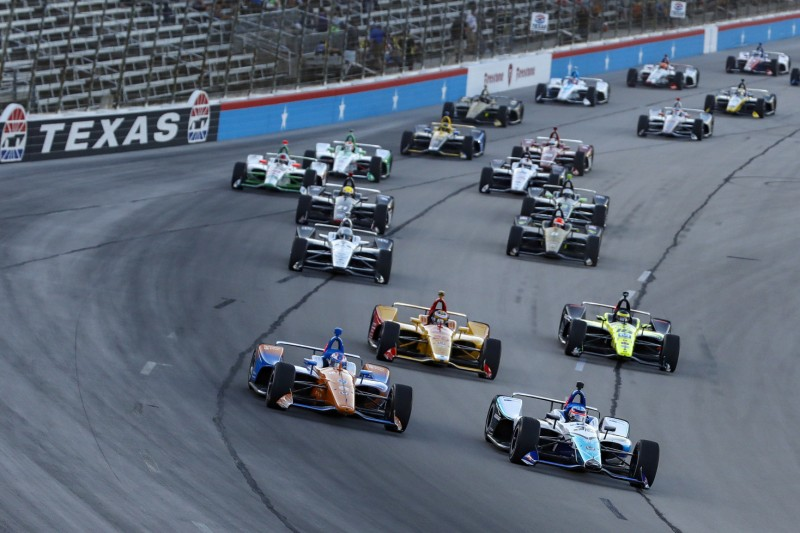 Start zum DXC Technology 600 der IndyCar-Serie 2019 in Fort Worth